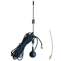Wholesale 7DBi High Gain WiFi Antenna w ft Cable amp Magnetic Base Kits