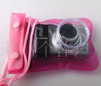 Wholesale Good Quality Water proof Case Camera Bag Bags Digital Camera Cases cm Pink Blue best