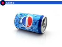 Wholesale Portable Pepsi Mini Speaker USB Disk Sound Box Multimedia With FM Radio Xmas Gift