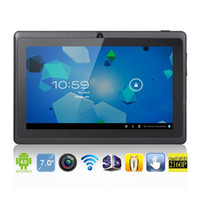 Wholesale 7 quot Q88 All Winner Android Tablet PC GB MID GHz DDR3 WIFI D Graphics