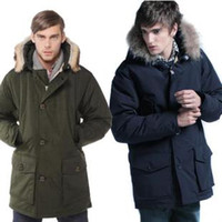 Wholesale new style in the grows man down jacket costly collars large size upset down jacket