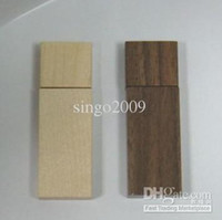 Wholesale Wooden series USB flash drive usb stick memory flash driver wood flash disk pen disk gb