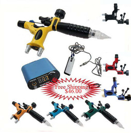 Wholesale 1 DRAGONFLY Rotary Machine Guns Power Supply Tattoo Kits