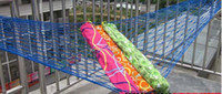Wholesale outdoor nylon net Hammocks thicken net hammocks