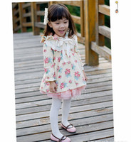 Wholesale Baby Girl s Autumn Flower Jackets Kids Coats Children Outfits bc