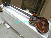 Wholesale EB D bass Guitar NewArrival Semi Hollow Strings EB D bassJazz Guitar High Quality