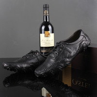 Half Boots PU Low Heel LuoHan mikael man British frenum dermal low help daily recreational shoe leather shoes male shoes oc