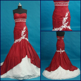 Wholesale 2012 Sexy beaded Sweetheart Mermaid Floor length Cheap Evening Dress Applique Lace Prom Dresess