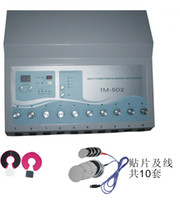 10 groups of electro pads 1 pair of electro Bra pads EMS Russian Wave Electric Muscle Stimulator TM-502