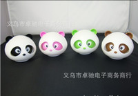 Wholesale hotting Genuine kung fu eye moving panda car balms color and scent