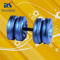 Wholesale New Creation Sport kg dumbbell set Water Poured Dumbbell By DHL pairs