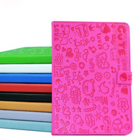 Wholesale Dropship Lovely Magic girl PU Leather Case with stand for iPad mini