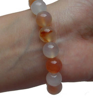 Wholesale Need a couple models of natural peach color agate natural agate bracelet bracelet