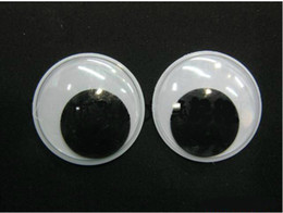 100pcs lot 50mm EP PET black&white toy eyes,Toys eyes activities eyes plastic eyes doll eyes