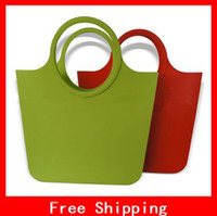 Wholesale Creative Silicone Shopping Bags For Vegetables Environmental Protection Shopping Basket FreeShipping