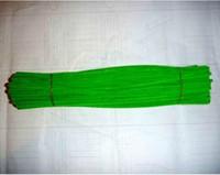 achat en gros de cure-pipes verts-6mm * 30cm jaunâtre chenille bricolage tiges vertes et cure-pipes 500pcs / lot