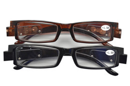 Wholesale Reading Glasses length with LED