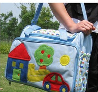 Wholesale Hot Sale Fashion Castle Car Diaper Bag Mummy Bag Nappy Bag Baby Biape feeding Bottle Case