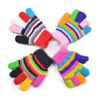 Wholesale Fashion Boys Gloves Children Gloves Winter Gloves Girls Kids Gloves Baby Warm Gloves Knitted Glove