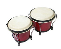 Wholesale Bongo drum inch and inch thick sheepskin drumhead