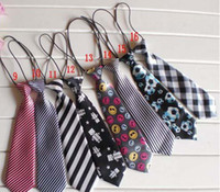 Wholesale Fashion Children Tie Babys Neck Ties Boys Tie Girls Neck Ties Baby Neckwear Kids Neckcloth Tie