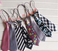 Neck Tie baby boy ties - Fashion Children Tie Babys Neck Ties Boys Tie Girls Neck Ties Baby Neckwear Kids Neckcloth Tie