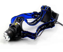 Wholesale Hot CREE XM L T6 LED Headlamp Coal Miner Zoom Focus LED Head Lamp Torch Cree Light Outdoor Lu
