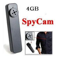 None   4GB Hidden Button Pinhole Camera Spy Mini DV Camcorder Video Camera Recorder DVR
