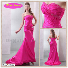 2015 Sexy Hi Lo Sweetheart Prom Homecoming Dress Beaded Ruching Elastic Satin Party Gowns dhyz 01