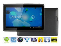 Wholesale Ultrathin quot AllWinner A13 Tablet PC Capacitive Touch Screen Android MB GB Camera