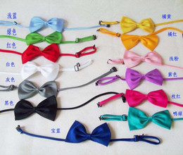 Fashion Babys Tying Bow Ties Boys Ties Necktie Neck Ties Silk Tie Boy Bow Tie Girls Bow Ties Kids