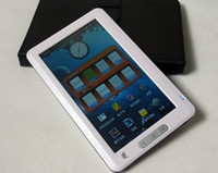 Wholesale 7 quot GB touch screen e book reader with games voice recorder FM music player