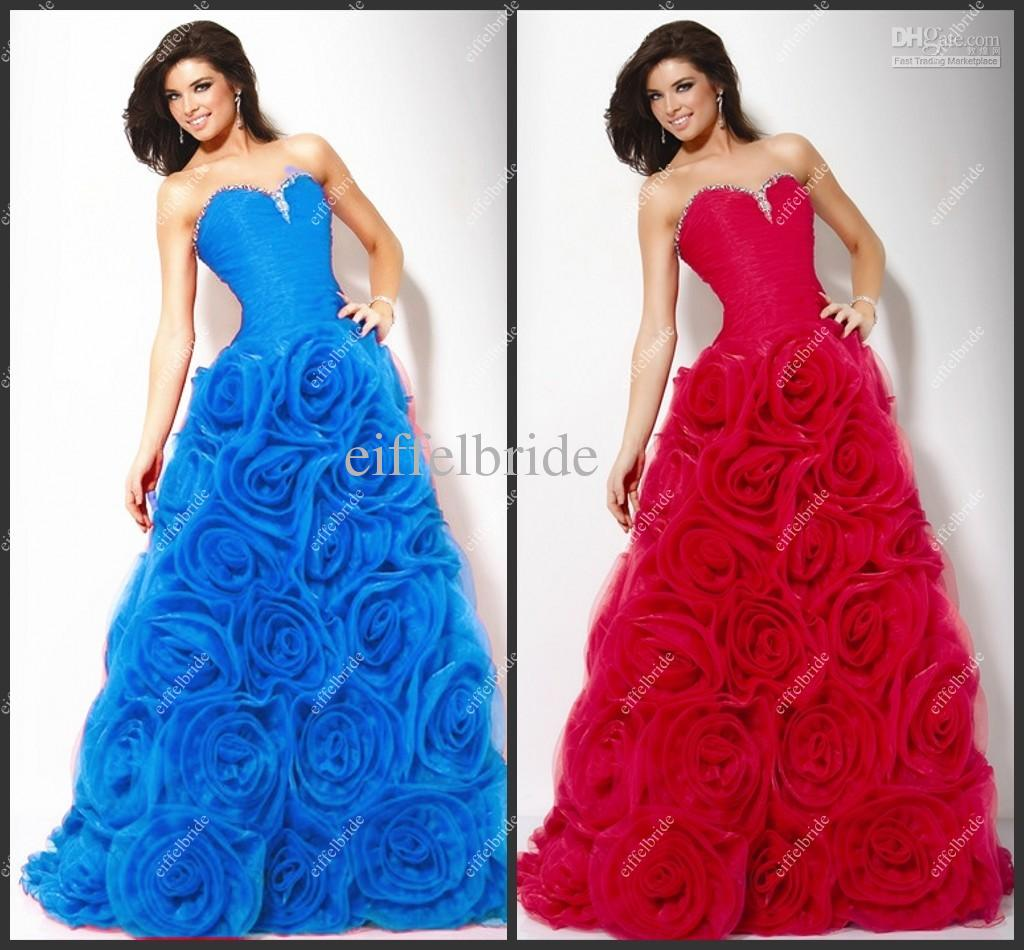 Red Blue Prom Dress | Dress images
