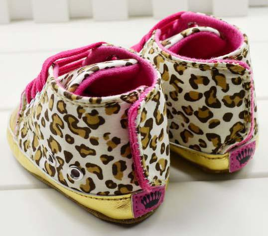 low-cost Baby Leopard First Walking Shoes Baby First Walker Shoes ...