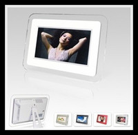 Wholesale 7 inch Picture Digital Photo Frame With Resolution Display sets