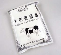 Wholesale SPA Product Milk Joss stick bathes salt Foot Care Tool Feet Bath Powder High Quality gram pack