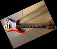 Solid left handed bass guitar - Promotions string bass Electric BASS Guitar in left handed cherry