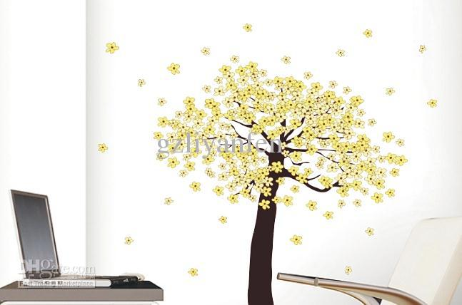 Lemon Tree Home Room Decor Removable Wall StickerDecal
