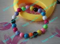 Wholesale Children s jewelry handmade Acrylic Bead Bauble Bracelet Christmas ornaments Fashion kid bracelets