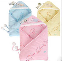 Envelope Warm Weather free size Children cotton blanket Neonatal embrace Kids cartoon quilt Sleeping bag winter