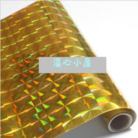 Wholesale Laser paste metal paste self adhesive wallpaper