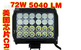 Wholesale cheap shipping three control way combine two beam inch two beam USA CREE four lows W LED work light bar ATV SUV offroad