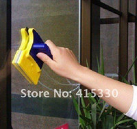 Wholesale Magnetic Window Cleaner Double Side Glass Wiper Cleaner Surface Useful Brush New