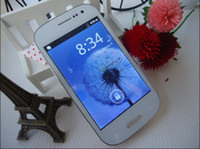 Wholesale i9300 MTK6573 Android smartphone inch capacitive screen dual sim quad band cell phone