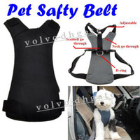 Wholesale Dog Pet Safety Seat Belt Car Vehicle Harness Size S Black GA1162