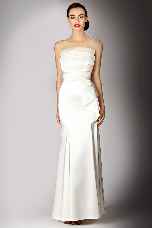 Elegant simple wedding gowns wholesale simple elegant a for Simple elegant wedding dresses cheap