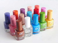 Pinks Fast Drying 8ml free shipping:wholesale---BK fashion popular nail polish 8ml