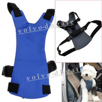 Wholesale Blue Dog Pet Safety Seat Belt Car Harness Comfortable Size L GA1165