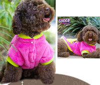 Wholesale 5pcs New Pet Puppy Dog Clothes Clothing T Shirt Coat Size S M L XL