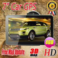 Gps Navigator best volkswagen cars - Best quality inch car GPS Navigation Bluetooth AV IN FM Ebook MTK DDR128M HD Wince6 GB load new D map by DHL free
